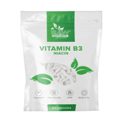 Vitamin B3 (Niacin) 500mg 60 Kapseln
