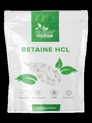 Betaine HCL 650 mg. 120 Kapseln