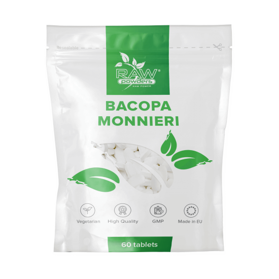 Bacopa Monnieri 500mg 60 Tabletten